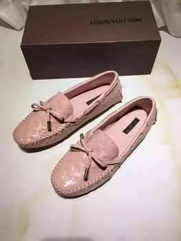 Louis Vuitton Leather Casual Shoes LV666 Pink