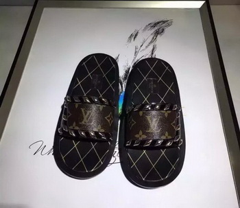 Louis Vuitton Slippers LV662 Brown