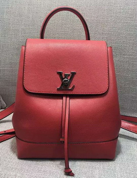 Louis Vuitton LOCKME BACKPACK M41817 Red
