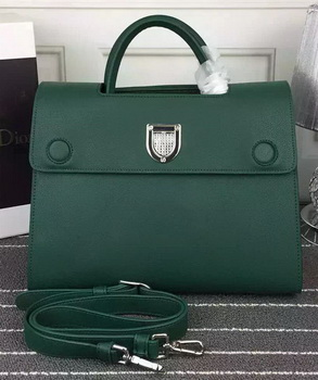 Dior Diorever Tote Bag Calfskin Leather D66556 Green