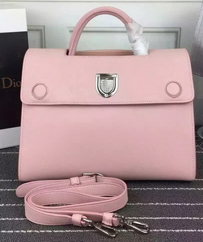 Dior Diorever Tote Bag Calfskin Leather D66556 Pink