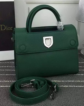 Dior Diorever mini Tote Bag Calfskin Leather D66555 Green