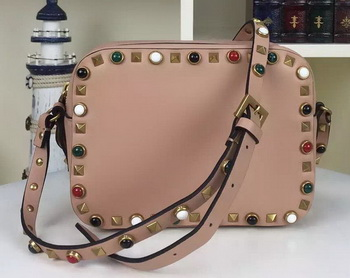 Valentino Garavani Cross Body Bag Original Leather VO1927C Pink