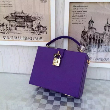Dolce & Gabbana Family Patch DOLCE BOX Bag DG4133 Violet
