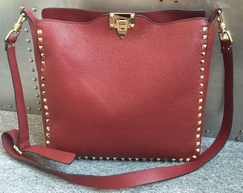 Valentino Garavani Rockstud Hobo Bag VO84499 Red