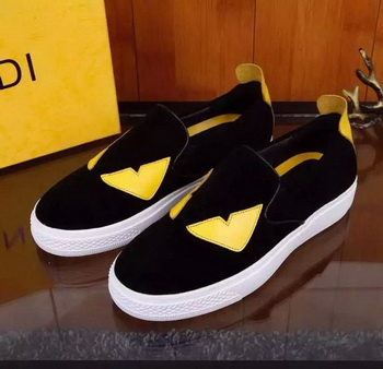 Fendi Casual Shoes FD129 Black