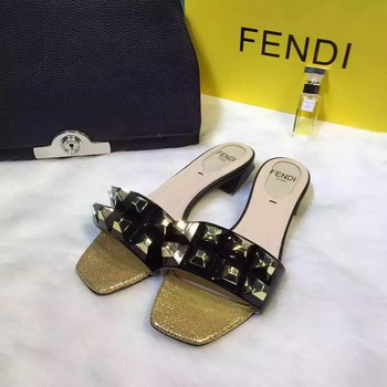Fendi Slipper FD127 Black