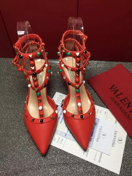 Valentino Calfskin Leather 60mm Pump VT816 Red