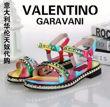Valentino Leather Sandal VT810 Multicolour
