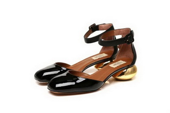 Valentino Patent Leather Pump VT808 Black