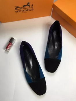 Hermes Casual Shoes HO659 Blue