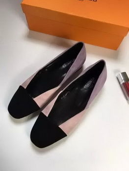 Hermes Casual Shoes HO659 Pink