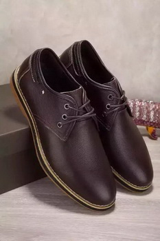 Louis Vuitton Leather Casual Shoes LV661 Brown