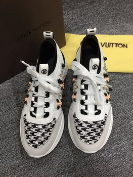 Louis Vuitton Leather Casual Shoes LV670 White