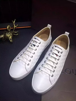 Louis Vuitton Leather Casual Shoes LV681 White