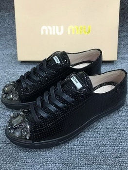 miu miu Casual Shoes MM439 Black