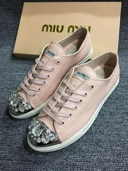 miu miu Casual Shoes MM439 Pink