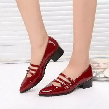 miu miu Leather Pump MM446 Red