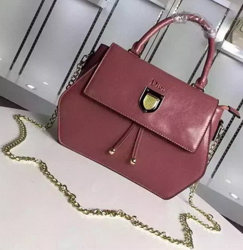 Dior Diorever Tote Bag Calfskin Leather D8213 Light Pink