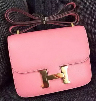 Hermes Constance Bag Calfskin Leather H9999 Pink