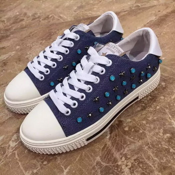 Valentino Casual Shoes VT854 Blue
