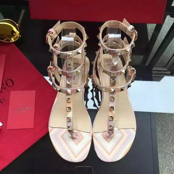 Valentino Leather Sandal VT849 Pink