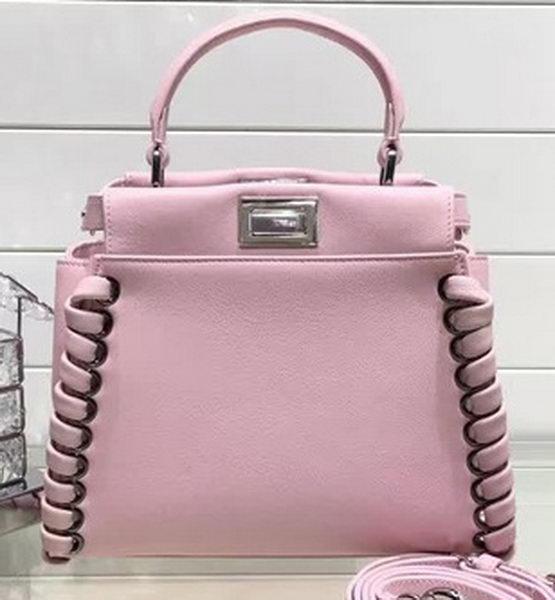 ... cheap fendi fashion show mini peekaboo bags original leather fd0702  pink 2ff14 558cb ... 5c3071ebf3aaf