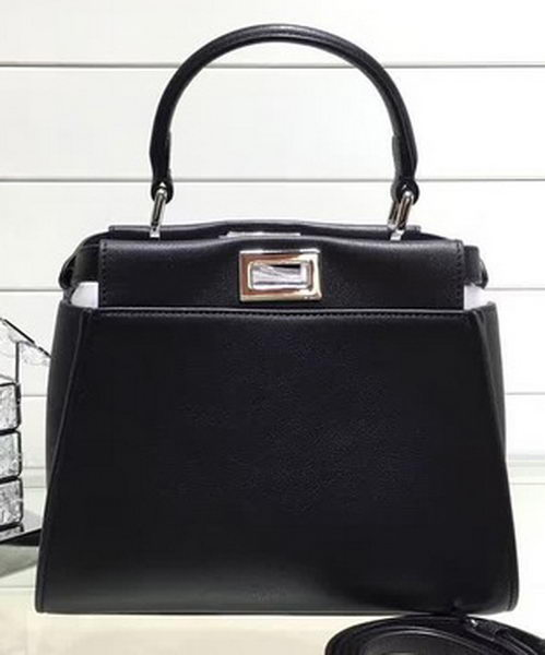 83f957533f12 discount code for fendi mini peekaboo bags original leather fd0706 black  d1594 b9bd4
