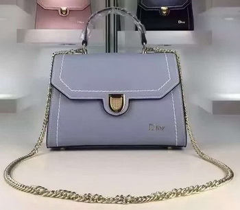 Dior Diorever Tote Bag Calfskin Leather 2C992 Blue