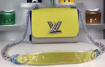 Louis Vuitton Epi Leather TWIST MM Bags M50272 Yellow