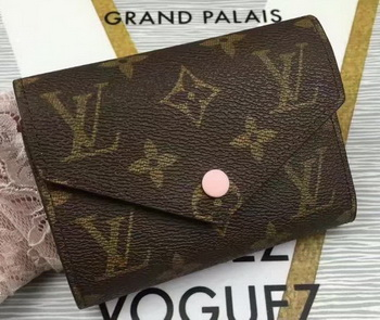 Louis Vuitton Monogram Canvas Victorine Wallet M62360 Pink