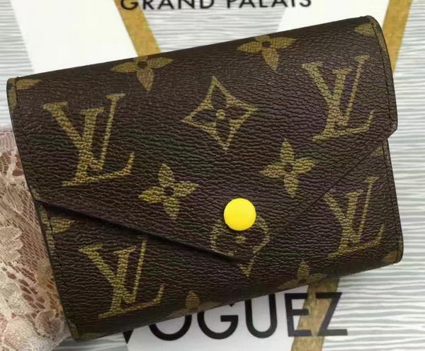 Louis Vuitton Monogram Canvas Victorine Wallet M62360 Yellow