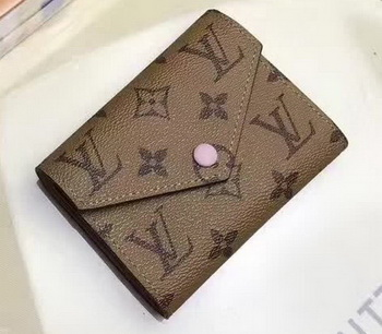 Louis Vuitton Victorine Wallet Monogram Canvas M62360 Pink