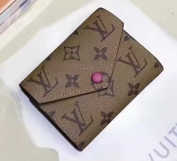 Louis Vuitton Victorine Wallet Monogram Canvas M62360 Rose