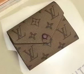 Louis Vuitton Victorine Wallet Monogram Canvas M62360 Wine
