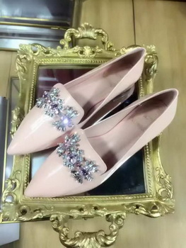 Dior Patent Leather Flat DO5613 Apricot