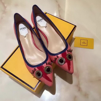 Fendi Ballerina Leather FD173 Pink