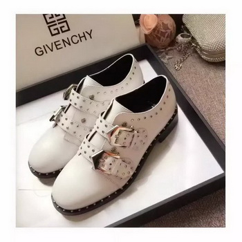 Givenchy Leather Casual Shoes GI63 White