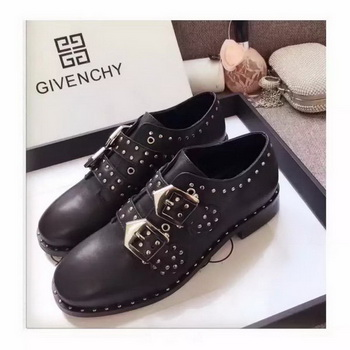 Givenchy Leather Casual Shoes GI64 Black