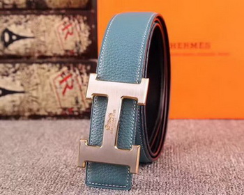 Hermes 40mm Belt H170417 SkyBlue