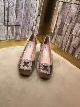 miu miu Suede Leather 60mm Pump MM547 Brown