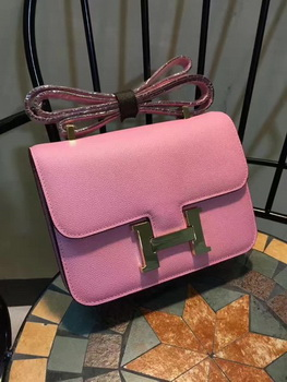 Hermes Constance Bag Calfskin Leather H9978 Pink