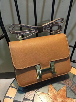Hermes Constance Bag Calfskin Leather H9978 Wheat