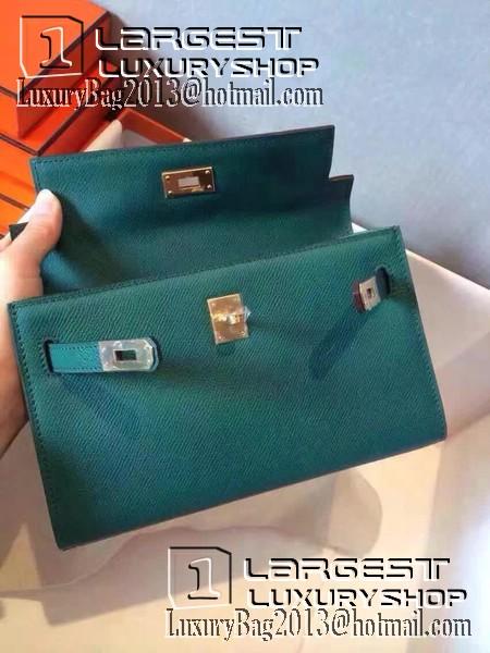 1a6603f792e ... cheapest hermes kelly 22cm tote bag original leather kl22 dark green  a8334 89b8d