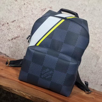 Louis Vuitton Damier Cobalt Canvas APOLLO BACKPACK N44006 Yellow