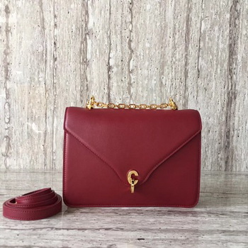 Dior C EST DIOR Flap Bag Smooth Calfskin CD0653 Red