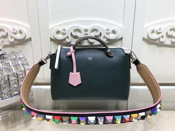 Fendi BY THE WAY Bag Original Calfskin Leather F2689 Green