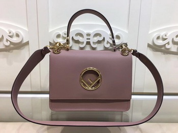 Fendi KAN I Leather Bag FD2670 Pink