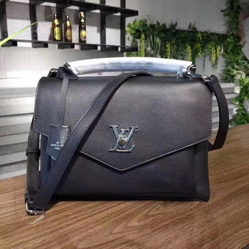 Louis Vuitton Soft Calfskin MY LOCKME M54849 Black