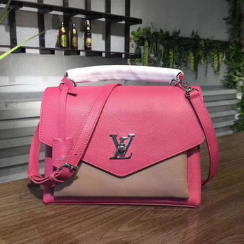 Louis Vuitton Soft Calfskin MY LOCKME M54849 Rose&Apricot